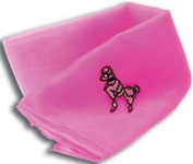 50s Pink Poodle Neck Scarf