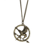 """The Hunger Games - Single Chain Necklace """"Mocking Jay"""""""