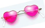 NEW NOVELTY PINK HEART GLASSES SUNGLASSES