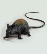 Black Rat with Squeak 13cm