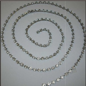 FDC 1 Metre Length Diamonte Diamante Chains Assorted Styles. Style B1