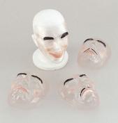 Transparent Masks. Male