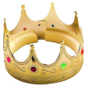 King Crown Gold with jewels