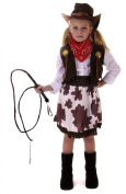 Cowgirl Toddler Fancy Dress Costume  .  -4