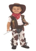 Cowboy Toddler Fancy Dress Costume Age 2 - 4