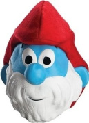 Rubie's Costume Co The Smurfs - Papa Smurf 3/4 Adult Mask