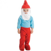 The Smurfs Papa Smurf Infant Toddler Costume, Infant, 6 - 12 months