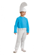 The Smurfs Smurf Child Costume, Small, Height 3' 20cm - 4'