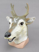 Head Mask - Rubber Stag Head