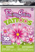 Fantasy Garden Girls Temporary Tattoos - 50+ tattoos