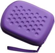 Purple Custom Carry Case for Vtech Leapfrog Leappad Explorer Tablet Tab Leap Pad Travel Bag
