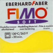 Fimo Effect Modelling Clay, Transparent Yellow, 56/57 g