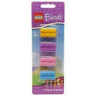 LEGO FRIENDS ERASERS 4 PACK