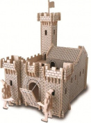 Knight Castle - Woodcraft Construction Kit