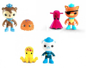Octonauts Figure Bundle Pack Kwazii and the Vampire Squid & Shellington with Sea Urchin & Barnacles and the Octopus 3 Items
