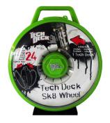 Tech Deck Sk8 Wheel Display Case for fingerboard transportation (incl. 1 Single Board) green