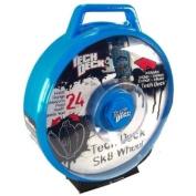 Tech Deck Wheel Display Case blue für 24 Boards inkl 1 Komplettboard