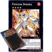 YuGiOh : CT09-EN001 Limited Ed Evolzar Dolkka Secret Rare Card -