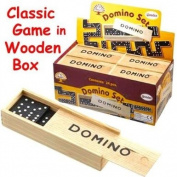 Traditional Wooden Domino - 15 x 5cm
