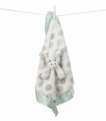 Little g Blanky, by Little Giraffe - Luxe Dot, Celedon
