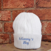 Mummys Boy Knitted Hat From 6 Months