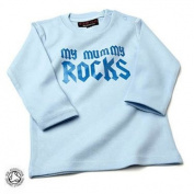 My Mummy Rocks Baby/Kids Bubblegum Pink T-shirt L/S,18-24 months