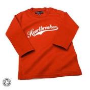 Heartbreaker Baby/Kids Red T-shirt,12-18 months