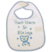 Baby Animals Design Bib With hook and loop Girl/Boy Options (0-3 Months)