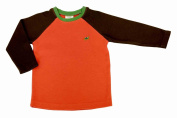 Green Nippers Baby Boy's Organic Cotton Raglan Sleeve Long Sleeve T-Shirt