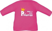 Long sleeve shirt for babies and children Moms little princess / t-shirt in 8 sizes and 6 colours