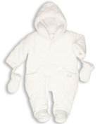 The Essential One - Quilted Baby Snowsuit EO2 - Newborn