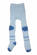 Weri Spezials Baby and Children ABS Terry Anti Non Slip Tights, light Blue, Size