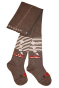 Weri Spezials Baby and Children Tights, Brown, Railroad