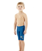 SPEEDO Boy's UV Protection Swim Jammers/Trunks in Blue/Orange