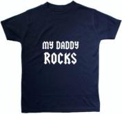 My Daddy Rocks - 2 - 3 Years - Blue
