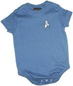 Star Trek Science Blue Uniform Infant Onesie Snapsuit