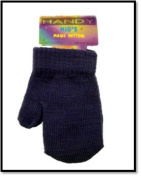 Baby Toddler Magic Mittens Assorted Colours Soft Stretchy purple.