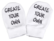 Spoilt Rotten -Create Your Own Slogan Baby Scratch Mittens