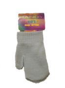 Baby Magic Mittens Assorted Colours Soft Stretchy Acrylic Fabric Unisex Mint Green