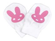 Spoilt Rotten - Bunny Design 100% Organic Cotton Scratch Mittens