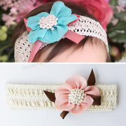 Headdress Baby Girls Lace Flower Hair Band Headband S27