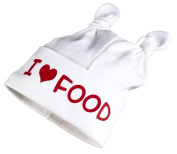 Spoilt Rotten - I Love Food Baby Knot Hat