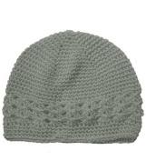 Grey Adorable Kufi Baby Hat