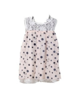 Girls Dotted Party Dress