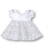 Vanilla Park Jersey Floral Dress with Sun Hat, Dress sets, Girls, 3-4 years