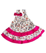 Lilly & Sid Vintage Style Floral Dress, Dresses, Baby girl, 18-24 months