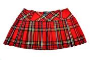 Tartan Mini Skirt 12in length (30.5cm) by Crazy Chick 8-14UK