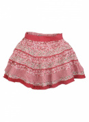 Pumpkin Patch Baby Girl's Below Knee Multi-Print Panelled Skirt