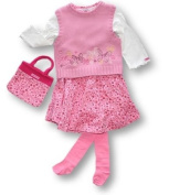 Vanilla Park Knitted Tank, Top, Skirt & Tights, Skirt sets, Girls, 18-24 months