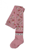 Weri Spezials Baby and Children Tights, Pink, Ethno